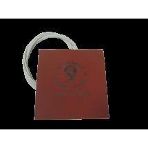 Гибкая нагревающая пластина 100 Вт 12В  размер 127mm х 152mm с губкой